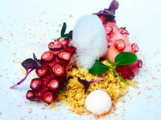 Foodtellers-polpo-aria-mandorla-crumble-tarallo-yogurt-greco